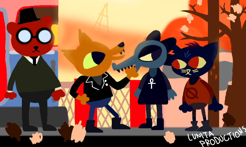 THIS GANG WHO GOT REJECTED FROM FOSTERS HOME by lunitaproductions