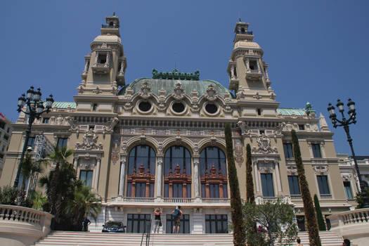 Behind Monte Carlo Casino