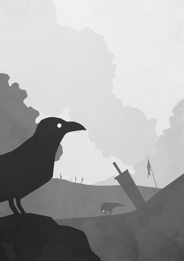 Crows by Sinkevic
