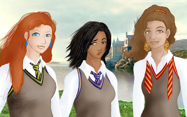 7th Year Hogwarts Students by demitrius