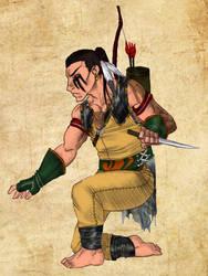 Amtgard Scout by mackrafty