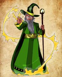 Amtgard Wizard by mackrafty