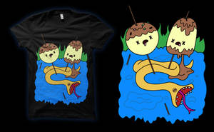 Adventure Time / What was missing / T-shirt by supertoki