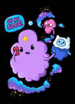 Lumpy Space Princess with Finn and Jake
