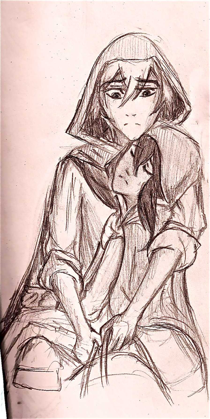 Raisa and Han sketch by bookaholic5
