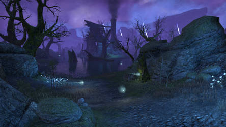 ESO Crow's Wood and Ice Wraiths