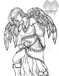 The pregnant angel- dedicated to my unborn child