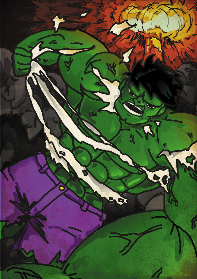 Hulk To Richi by kamarisama