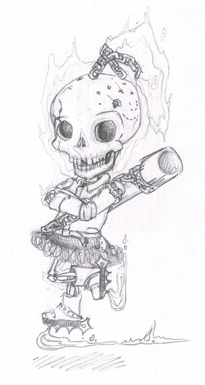 Ghostrider: Kim HwaJae by kamarisama