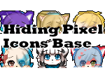 P2U - Hiding Pixel Icons Bases by Kitty-Shop