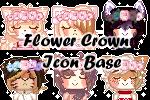 P2U - Flower Crown Icons Bases by SatouTenshi