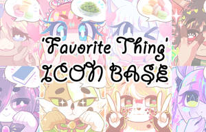 [HOLIDAY SALE] P2U - 'Favorite Thing' Icon Base by Kitty-Shop
