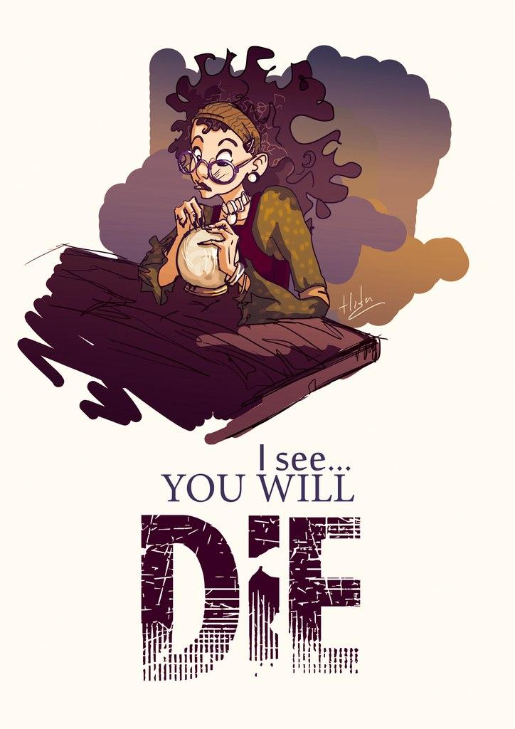 Sybill Trelawney by eighthSun