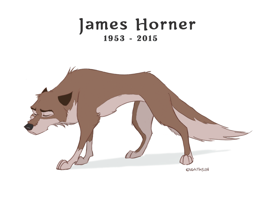 James Horner 1953 - 2015 by eighthSun