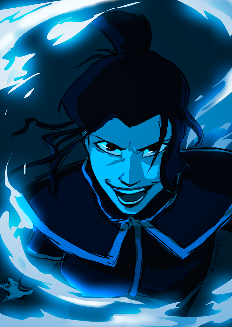 Azula in fire by eighthSun