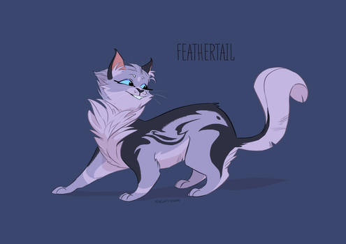 Warriors Feathertail Character Design