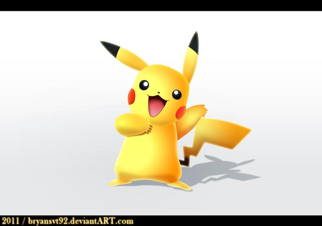 Pikachu Wallpaper 3d