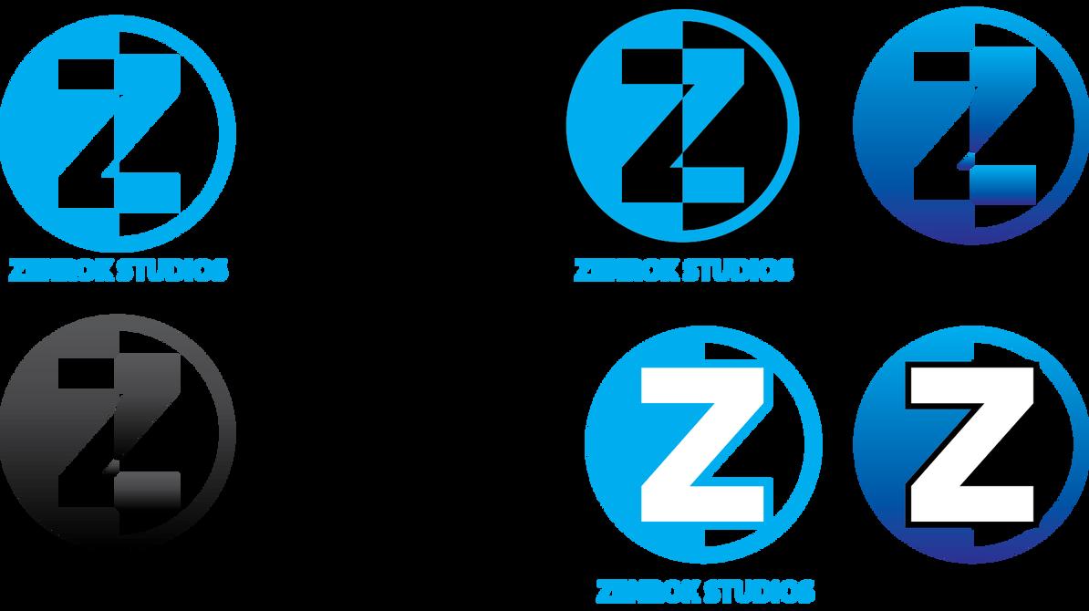 Zenrok Studios Logos by XelaDoesArt