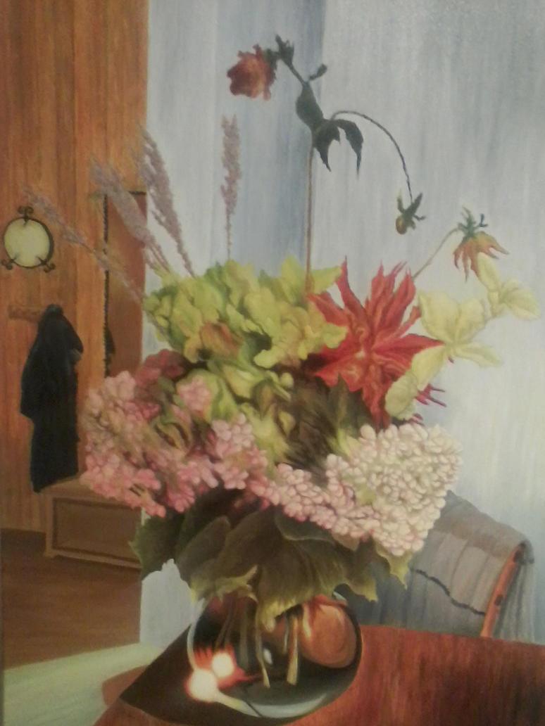 Lipiec w wazonie / July in the vase by Lila-Rena