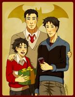 Noel en Famille by Grimmby