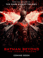 Batman Beyond Movie Poster by Grimmby