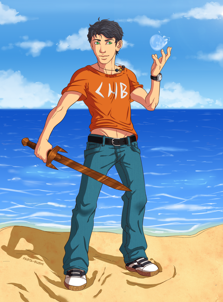 Percy Jackson by Grimmby