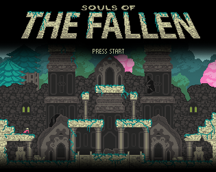Souls of the Fallen Game Jam Promo Art by Norrec18