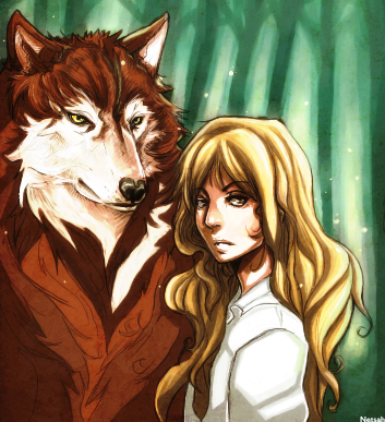 Jacob and Renesmee by netsah on DeviantArt