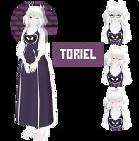 [MMD] Toriel Undertale by NineMin