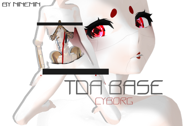 [MMD] TDA Cyborg base by NineMin