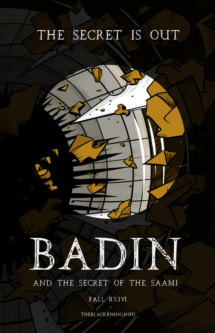 Poster #1 for Badin and the Secret of the Saami v2 by theblackrhino