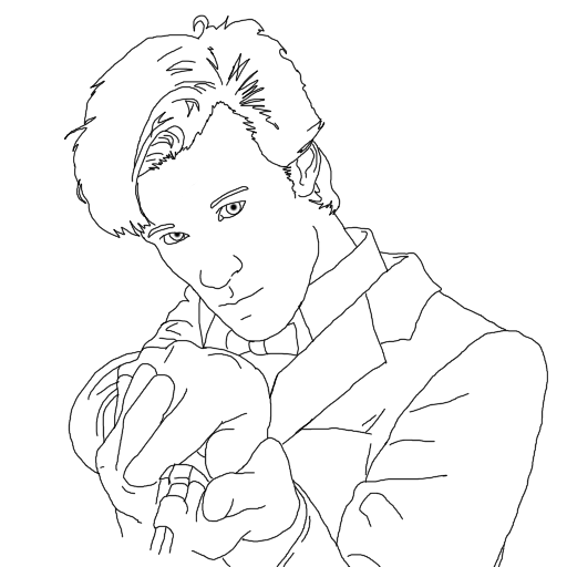 Line Drawing Of A Doctor : Th doctor w i p by jpscomiclinework on deviantart