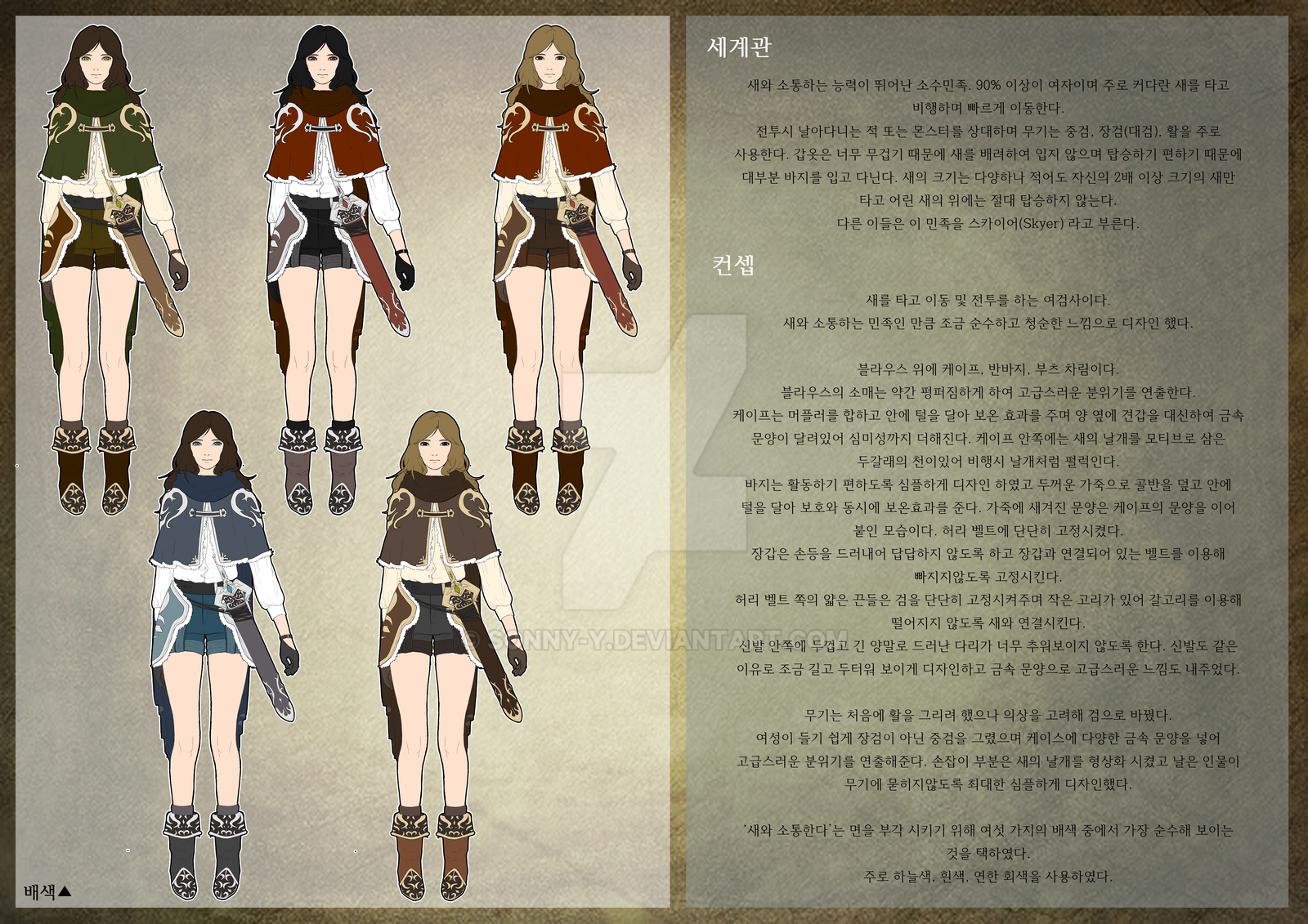 Game Character Design Competition 2015 : Game character design part b by sonny y on deviantart