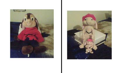 Photo Album Page 8 - 9 Fival, Fluffy, Bit