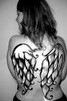 Body Painting - Angel Wings by Miss-Mim