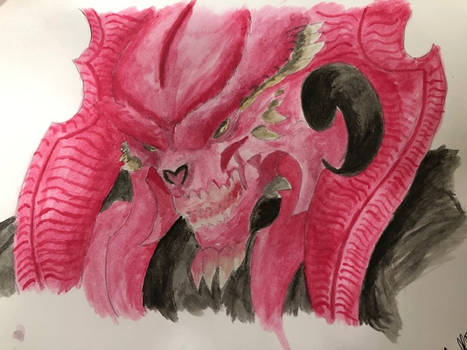 Blood Sleuth Water colour