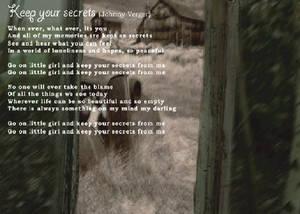 Keep Your Secrets Lyrics