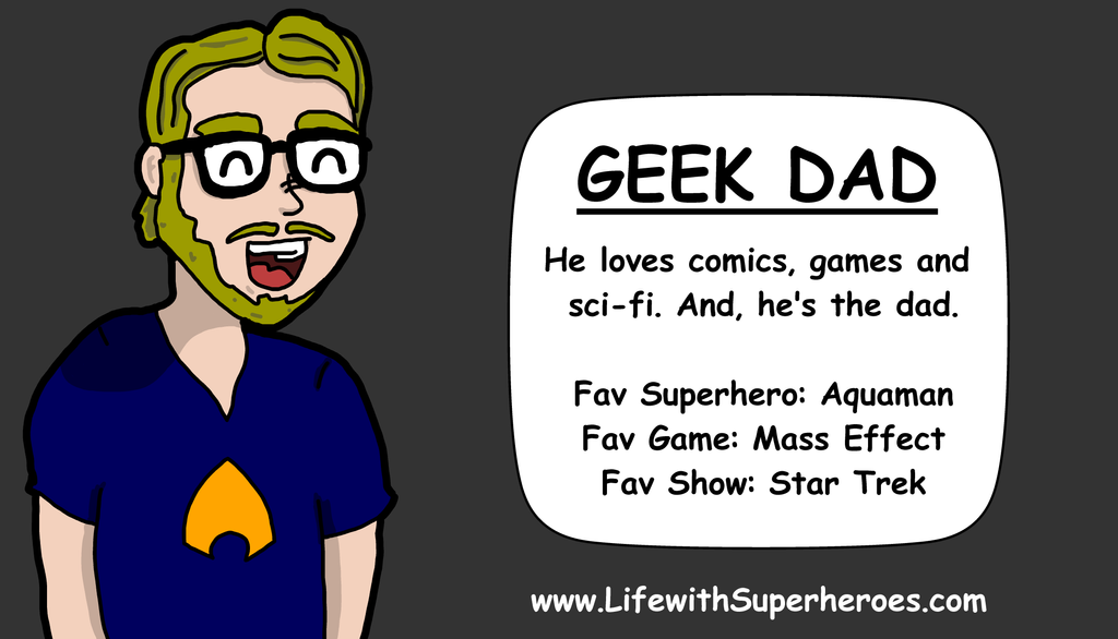 LWS Character Profile - Geek Dad by ZacAvalanche