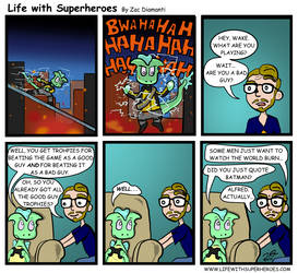 Life with Superheroes #21