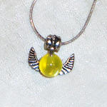 HP - Golden Snitch Necklace