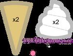 Ice Cream Plush Pattern
