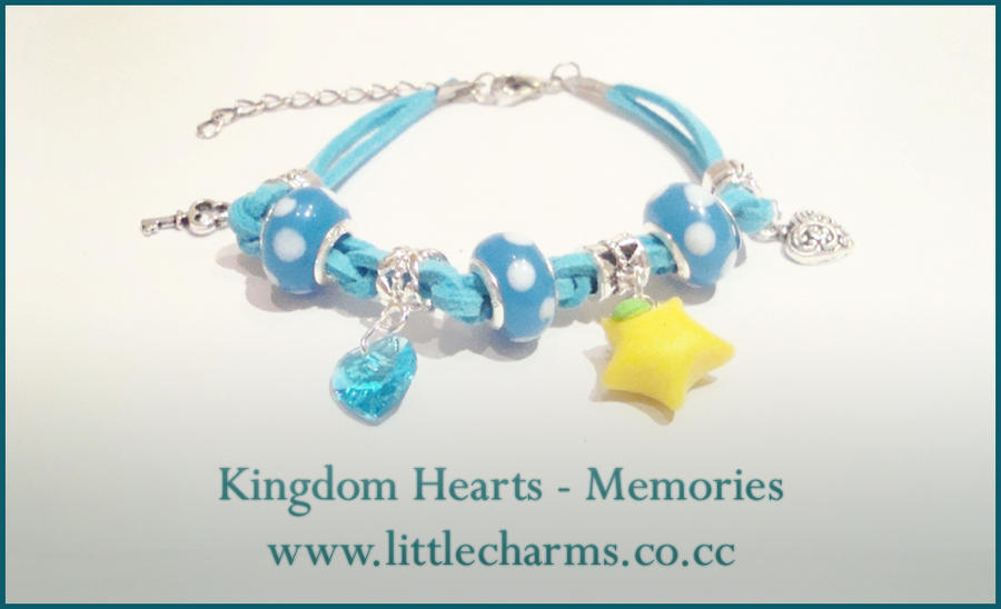 Kingdom Hearts - Memories Bracelet by LittleCharms