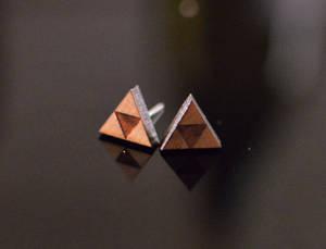 Zelda's Earrings in Cherry
