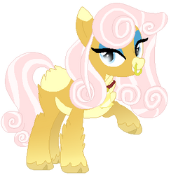 Rosey Curls Pony Adopt Auction -Closed- by Driverscissors