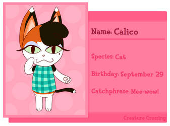 Creature Crossing - Calico by Driverscissors