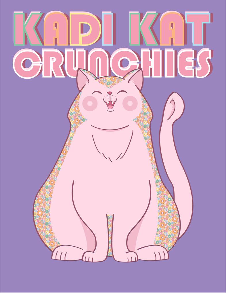 KadiKatCrunchies Mascot and Logo by x-SuperTramp-x