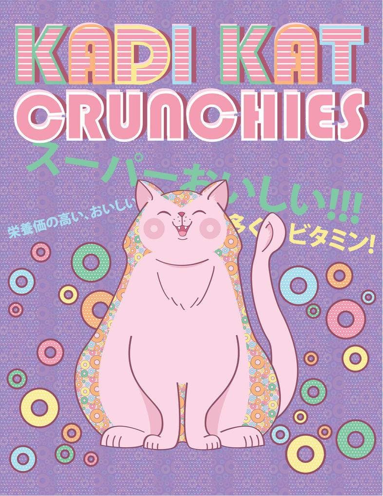KadiKat Crunchies Poster by x-SuperTramp-x