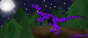 Moonlit Night by LavaSpinosaurus
