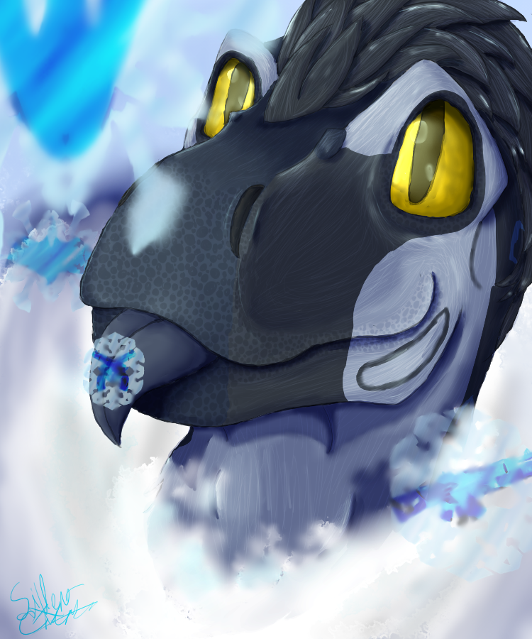 Snowdrift Snowflake by LavaSpinosaurus