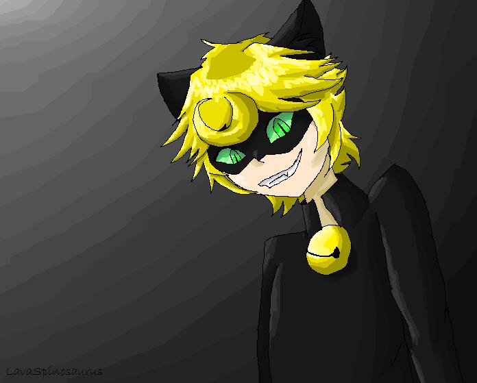Chat Noir by LavaSpinosaurus